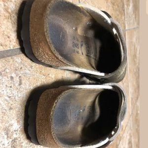 Birkenstock Shoes - Birki's buckle clogs slip on sandals 38 7